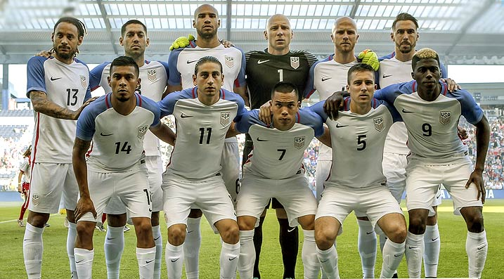 USA Team at Copa America Centenario 2016