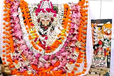 The Presiding deity Narasimha
