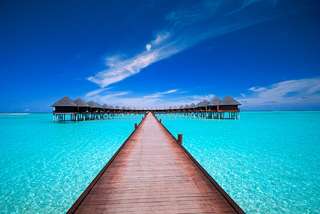 Maldives,The World's Most Romantic Travel Destinations