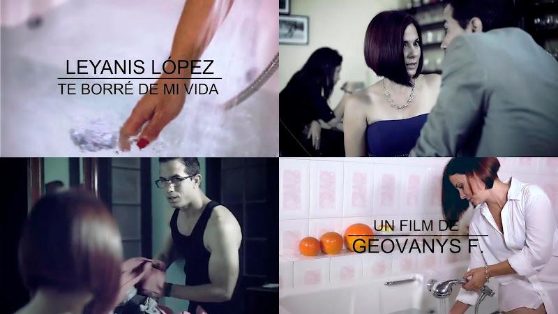 Leyanis López - ¨Te borré de mi vida¨ - Videoclip - Dirección: Geovanys F. García. Portal del Vídeo Clip Cubano
