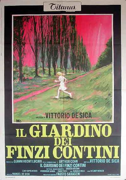 Pel culas italianas ganadoras del premio oscar a la mejor pel cula extranjera - El jardin de los finzi contini ...