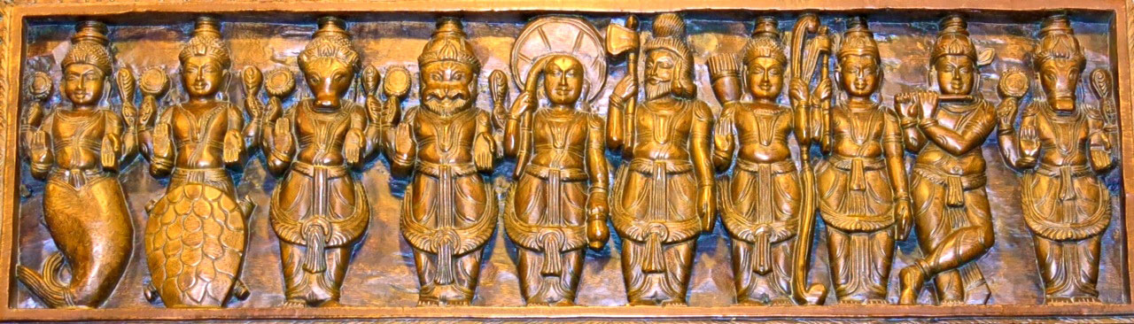 Ten Incarnations of Vishnu