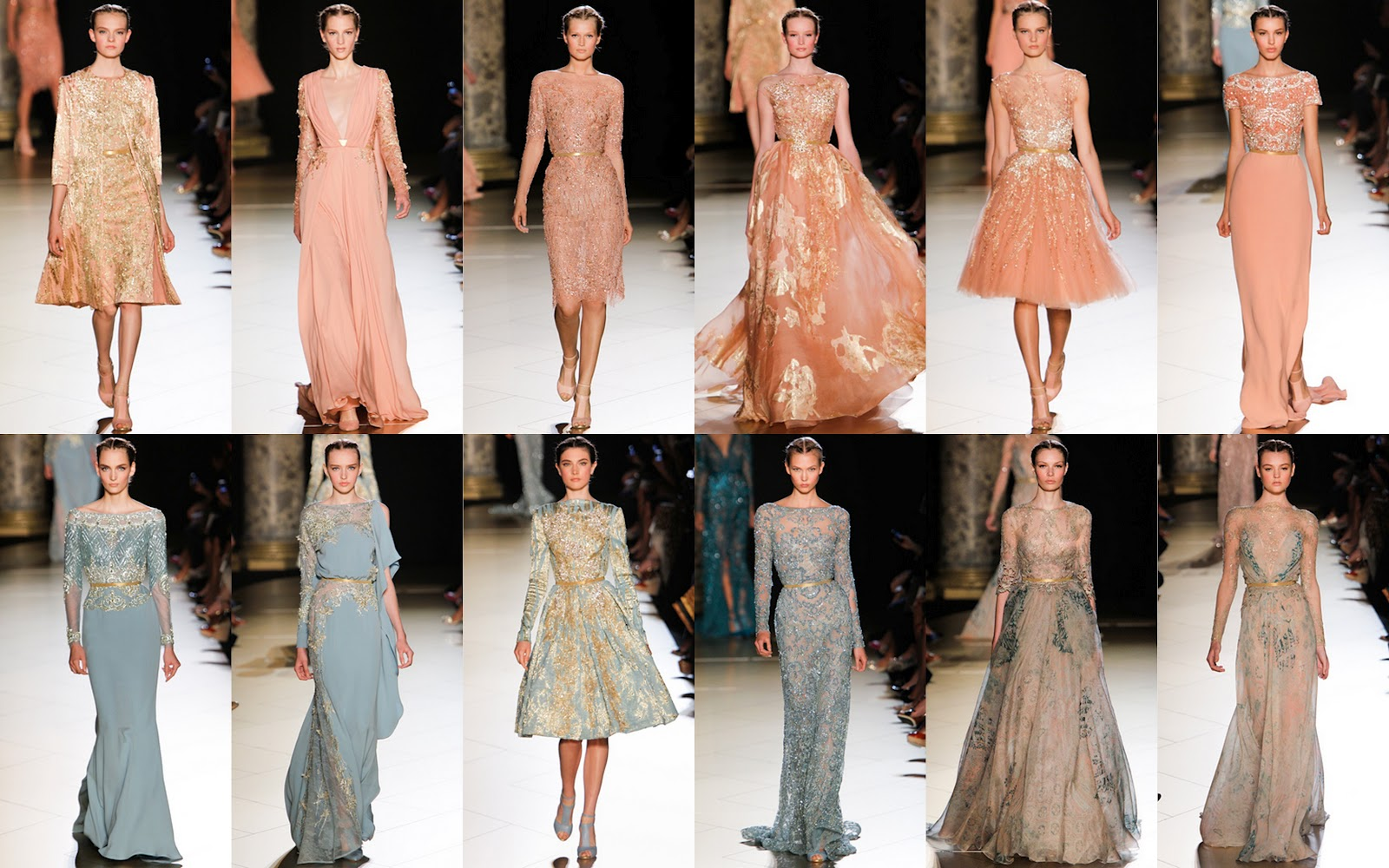 1fb23126fbb1 Elie Saab Fall Winter collection 2012-2013