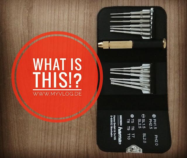 WHAT IS THIS!? Technik - MyVlog Foto: Werkzeugkoffer 2.0!