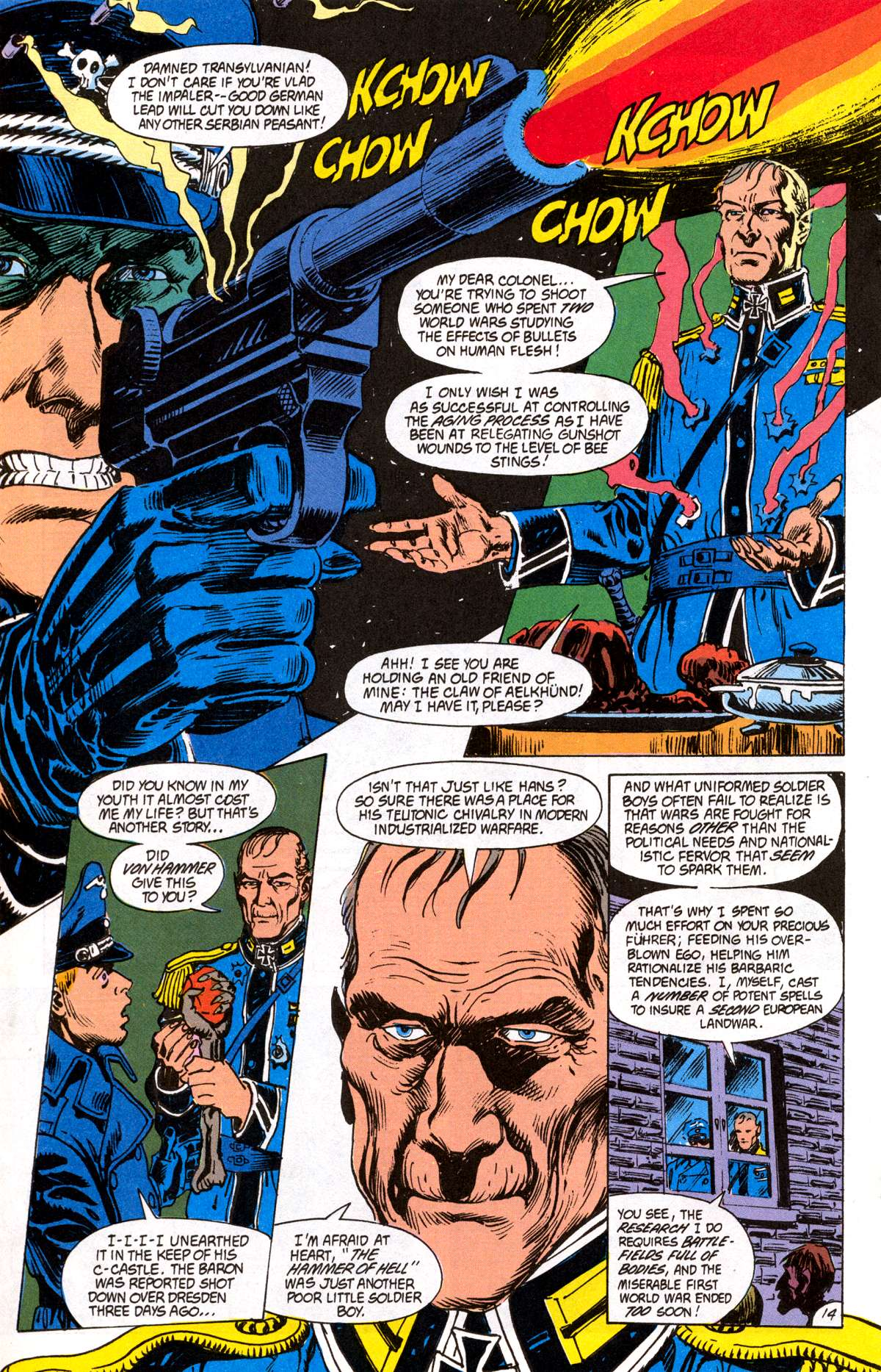 Swamp Thing (1982) Issue #82 #90 - English 15