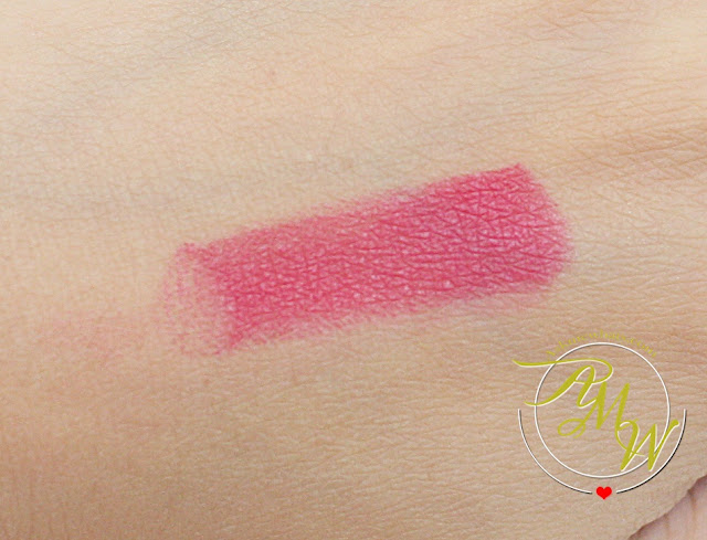 a swatch photo of Max FactorX Velvet Matte Lipstick Review (25 Blush)