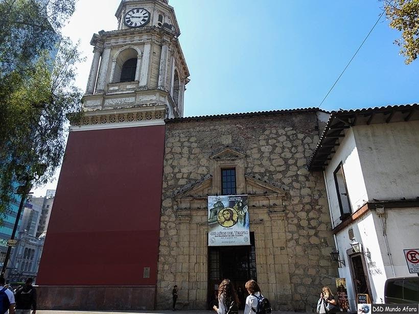 Exterior da Igreja de São Francisco - o que fazer em Santiago