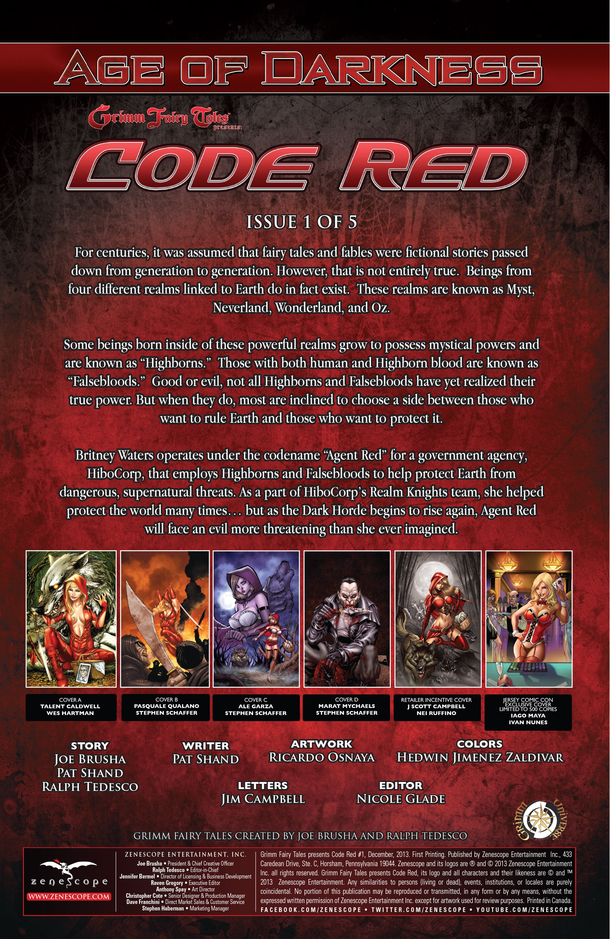 Read online Grimm Fairy Tales presents Code Red comic -  Issue # TPB - 6