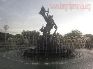 Patung Dewa Ruci di Taman Kota Pecangakan