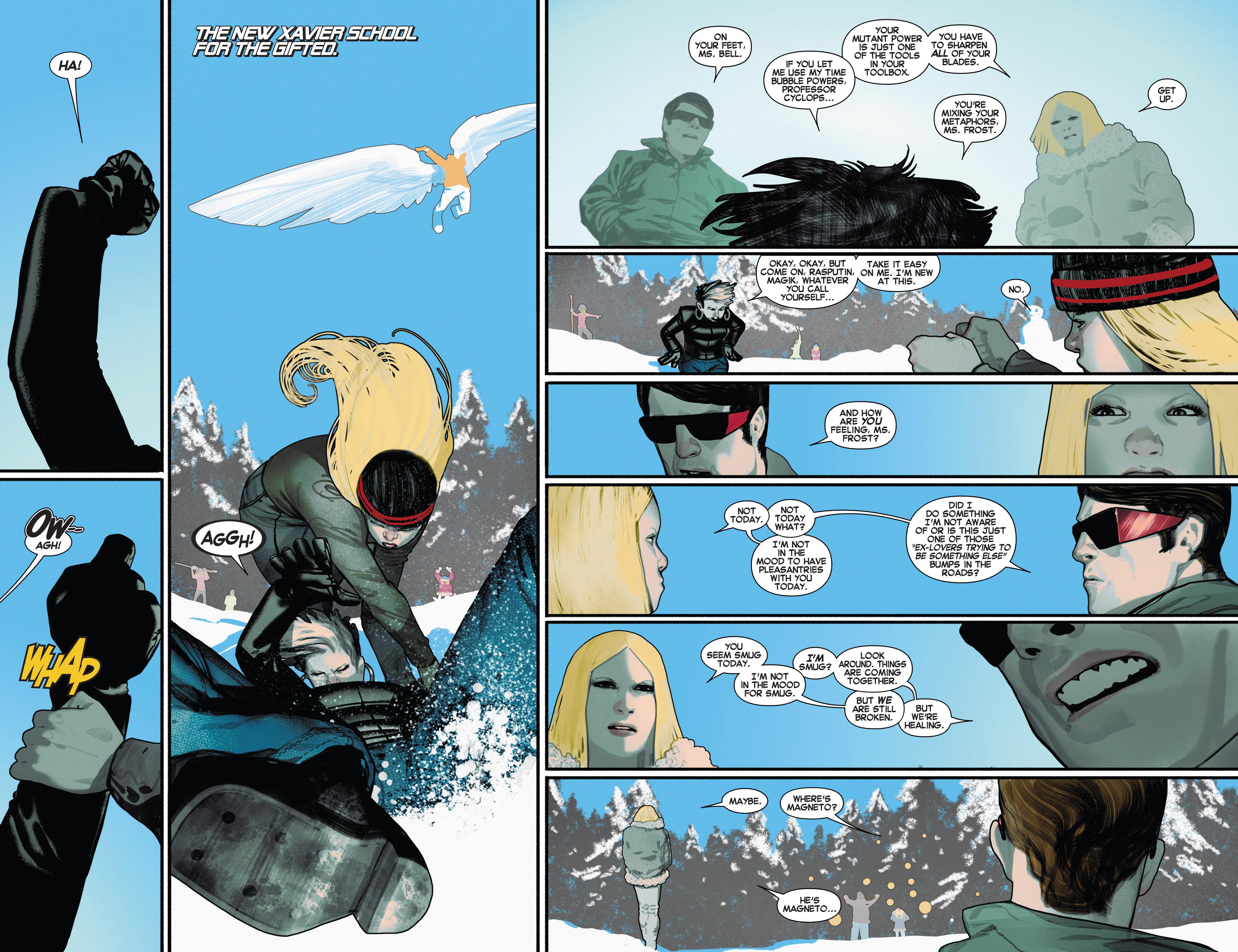 Read online Uncanny X-Men (2013) comic -  Issue # _TPB 2 - Broken - 82