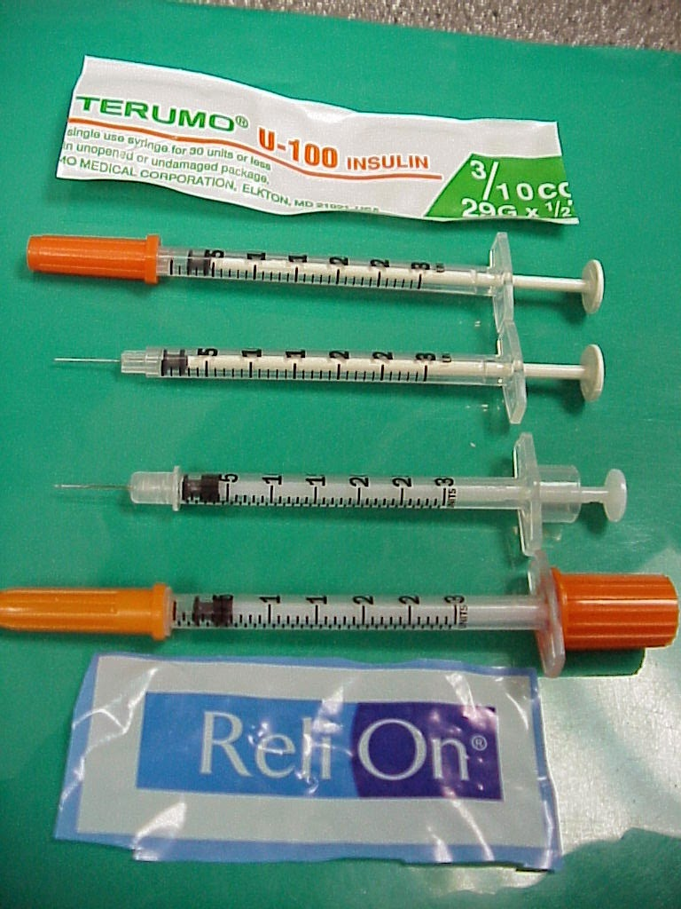 Diabetic Syringes At Walmart - #GolfClub