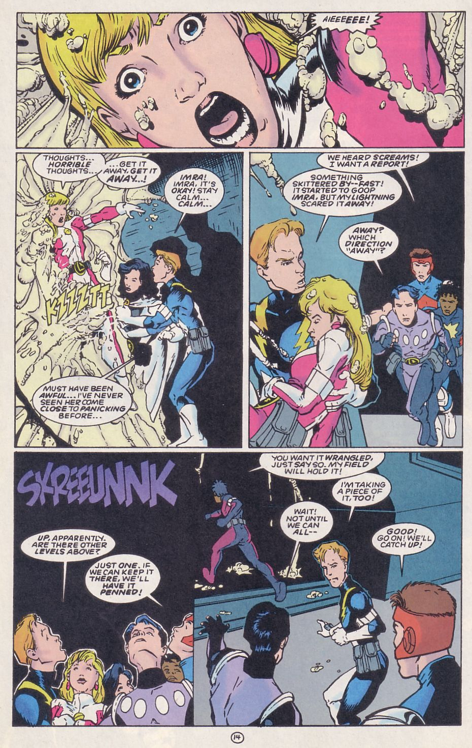 Legion of Super-Heroes (1989) 62 Page 14