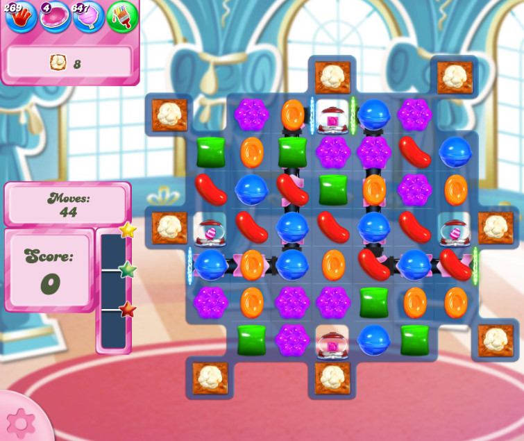 Candy Crush Saga level 2658