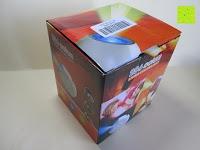 Verpackung: OriGlam® New Touching Schalter, Farbe Bar Design, 256 Farben-Licht-Lampe Atmosphäre Licht mit eingebautem Akku Verwendet als Schreibtischlampe Ambience Licht für Dekoration Weihnachts Yoga (schwarz)