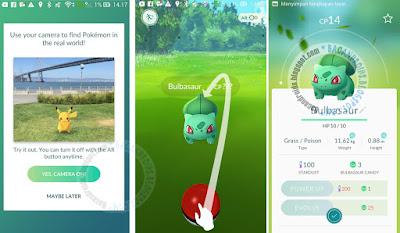cara instal pokemon go di Asus Zenfoen intel