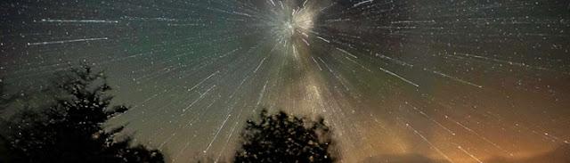 05 de maio - Chuva de meteoros Eta-Aquaridas