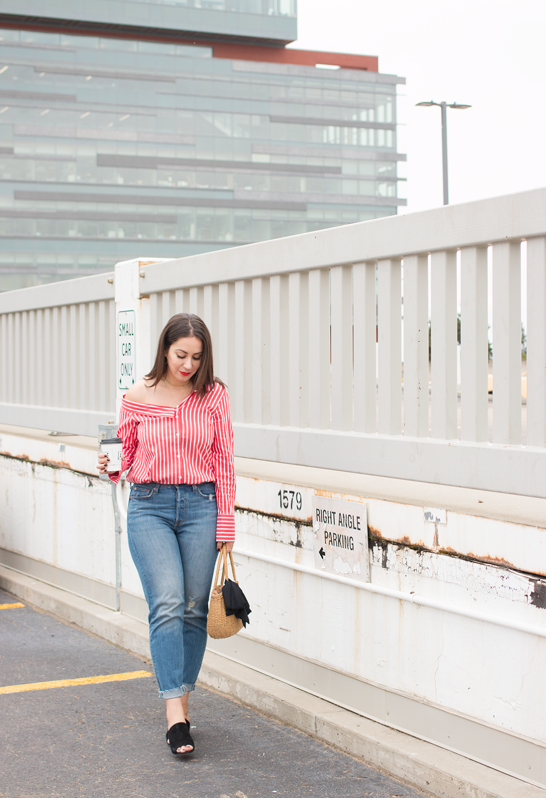 Giving Summer The Cold Shoulder (Or How to Dress Transitionally)