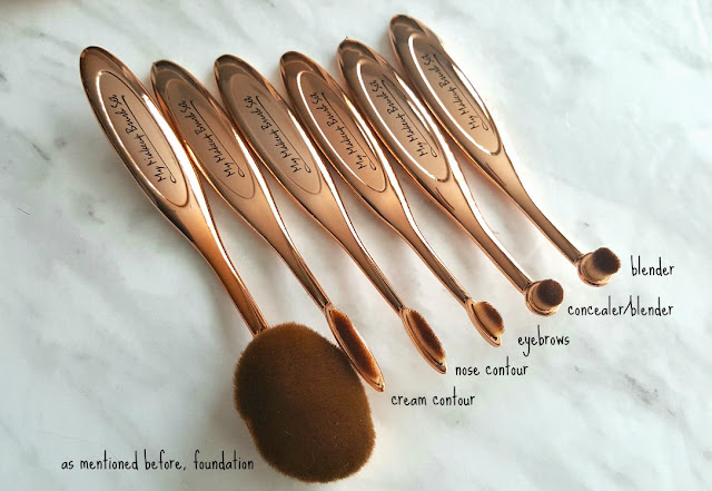 My Makeup Brush Set Review*, Canadian beauty blogger, artis dupe brushes, makeup brush set, online makeup brush shopping, Canadian blog, beauty blog, beauty reviews.