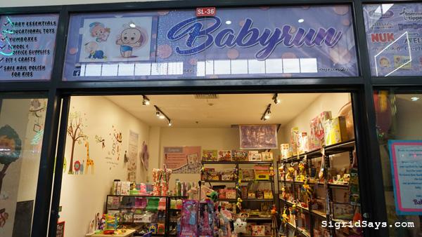 Babyrun baby needs store Bacolod - 888 Chinatown Premier Mall