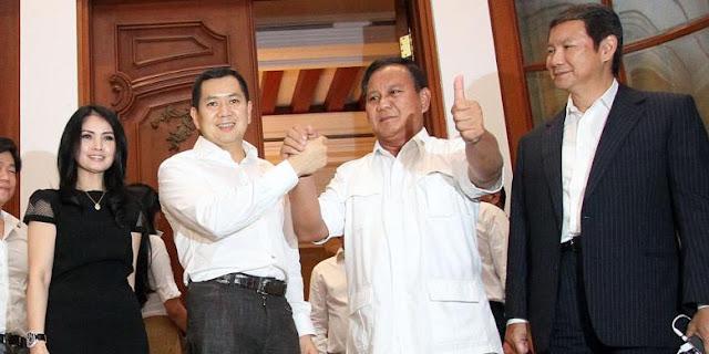 Hary Tanoe Akan Menjadi Mualaf Untuk Mendampingi Prabowo Sebagai Calon Wapres 2019