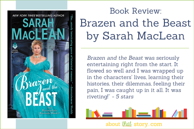 Book Review: Brazen and the Beast by Sarah MacLean | About That Story