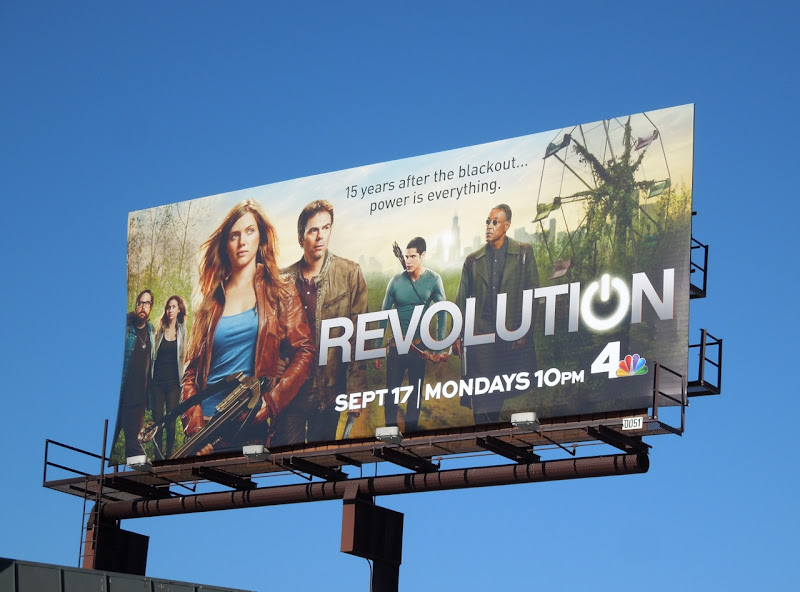 Revolution season 1 NBC billboard