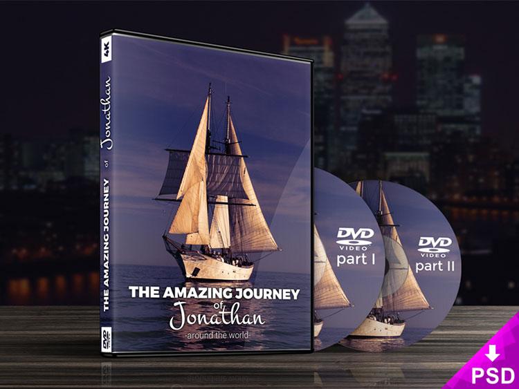 DVD Case Mock-up PSD