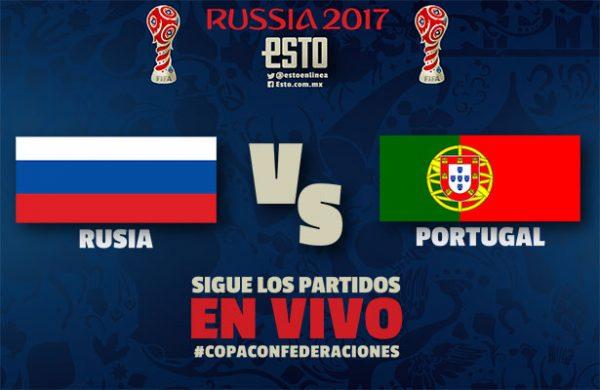 Ver Partido Portugal vs Rusia EN VIVO Gratis Por Internet Hoy 21/06/2017