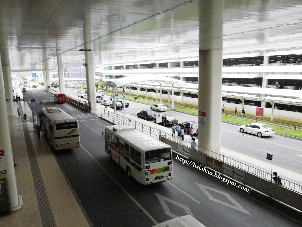 沖繩-那霸機場-國內線-國際線-交通-巴士-公車-自由行-旅遊-旅行-Okinawa-naha-airport-transport