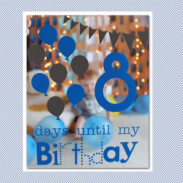 Becca's Designs: Birthday Countdown