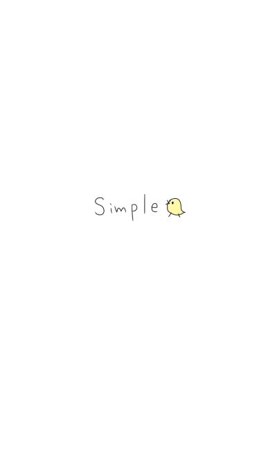 Simple chicks