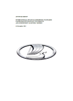 Avtovaz, annual, 2015, report, front page