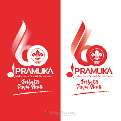 Hari Pramuka ke-60 (2021) Logo Vector