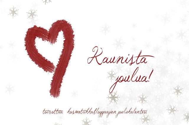 Kosmetiikkabloggaajien joulukalenteri: Luukku 24