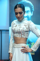 Catherine Tresa in Beautiful emroidery Crop Top Choli and Ghagra at Santosham awards 2017 curtain raiser press meet 02.08.2017 007.JPG