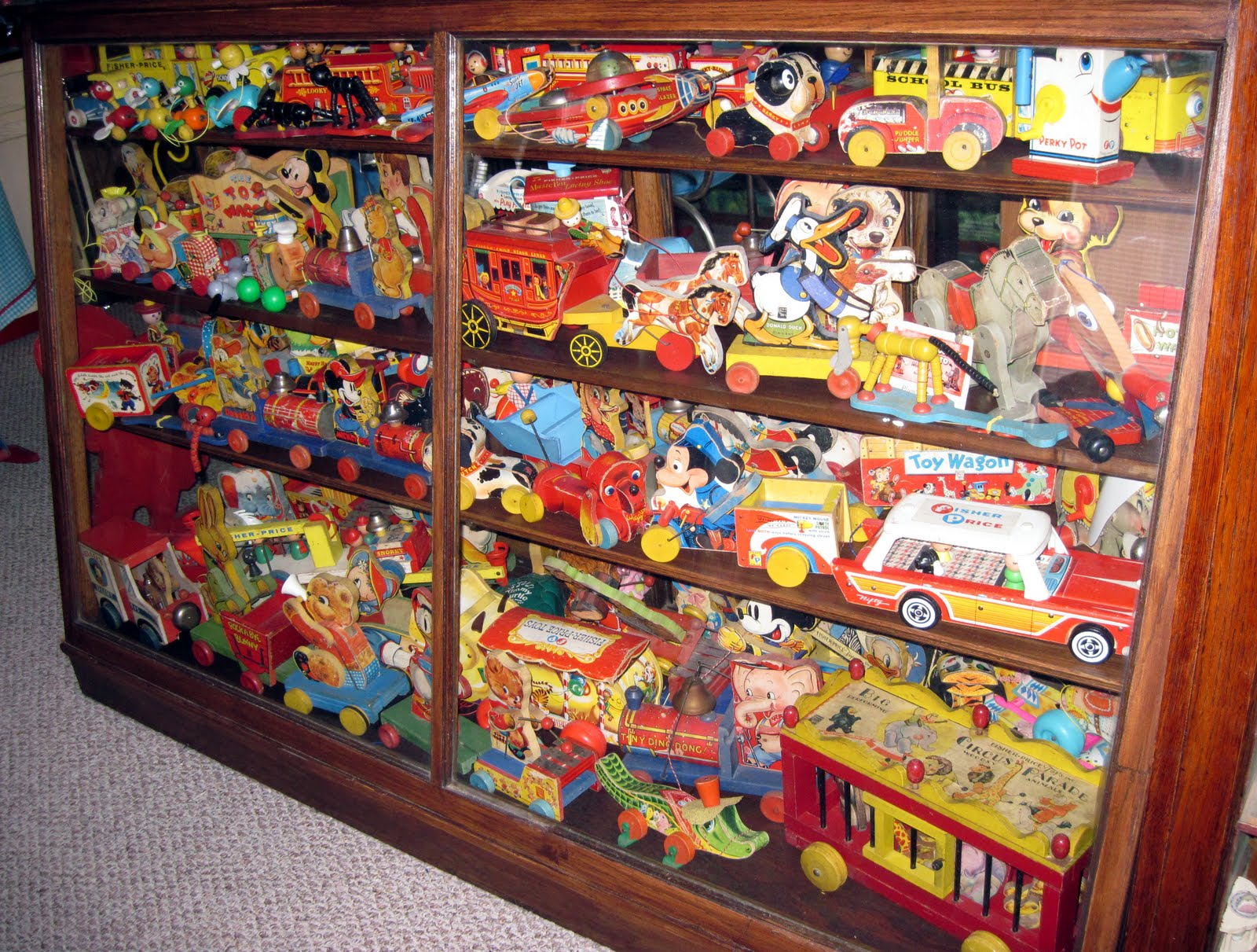 Tracy S Toys And Some Other Stuff Display Case Of