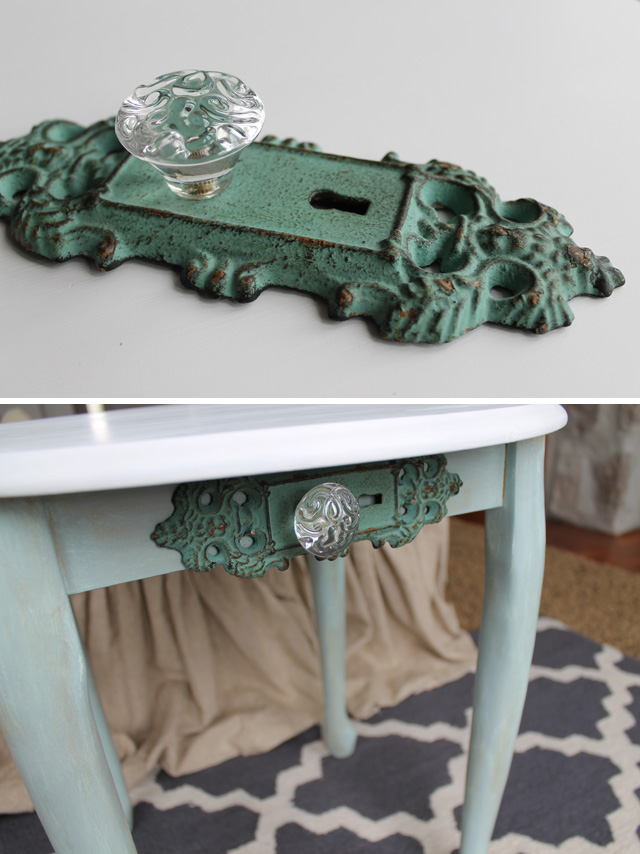 Table Makeover with Chalky Finish Paint from Americana - My Sister's