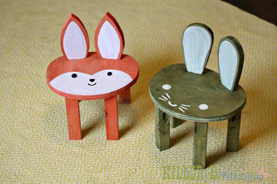 14 ide Inspirasi desain kursi anak lucu