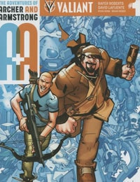 Read A&A: The Adventures of Archer & Armstrong online