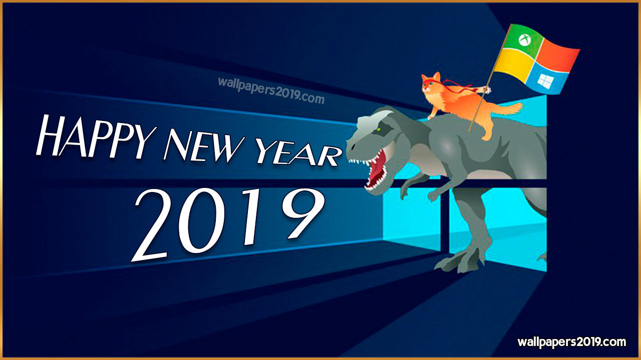 happy new year 2019 windows