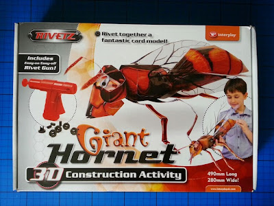Interplay Giant Hornet review paper construction kit