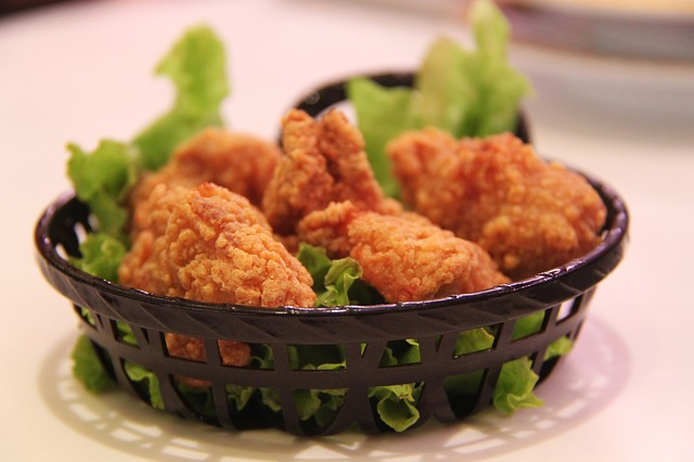 bubur ayam dan ayam bakar panggang