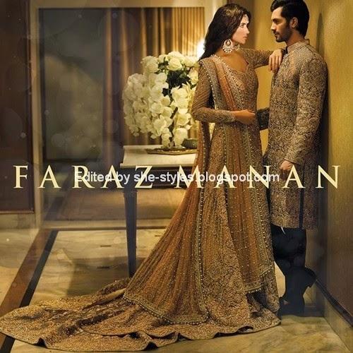 ec5d871277 Faraz Manan Bridals - Pakistani Bridal Designer Dress Collection 2015-16