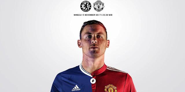 Chelsea vs Manchester United, Laga Biru Vs Merah