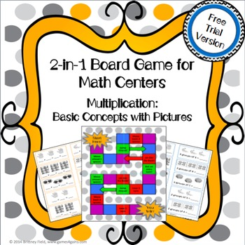 Multiplication Board Games