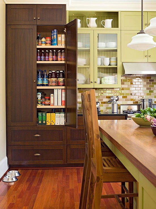 2014 Perfect Kitchen Pantry Design Ideas : Easy to Do