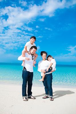 沖縄 親子 ビーチ撮影会