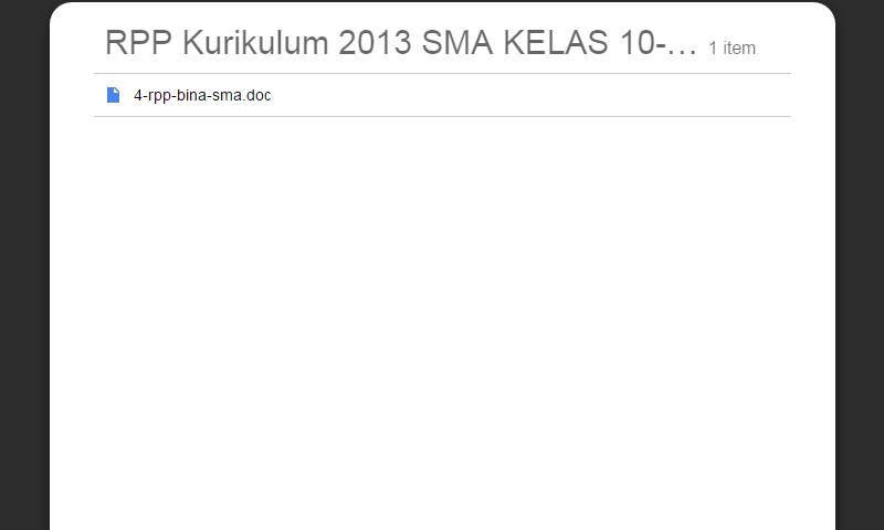 New Revisi Rpp Kurikulum 2013 SMA Kelas 10-11-12 Bina SMA LengkapTerbaru