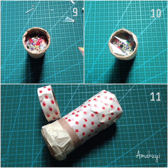 Tutorial para hacer un caleidoscopio DIY reciclando materiales
