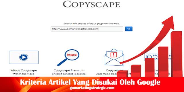 Cara Mudah Mengecek Keaslian Artikel Dengan Copyscape